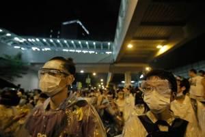 masker demonstran hongkong