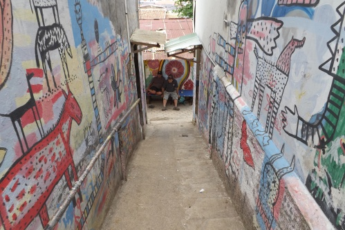 gang mural